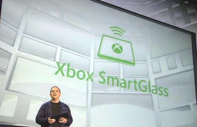 With SmartGlass, your tablet is...not quite the controller.