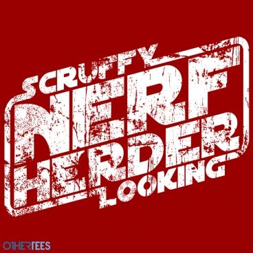 othertees.com scruffy looking nerf herder shirt