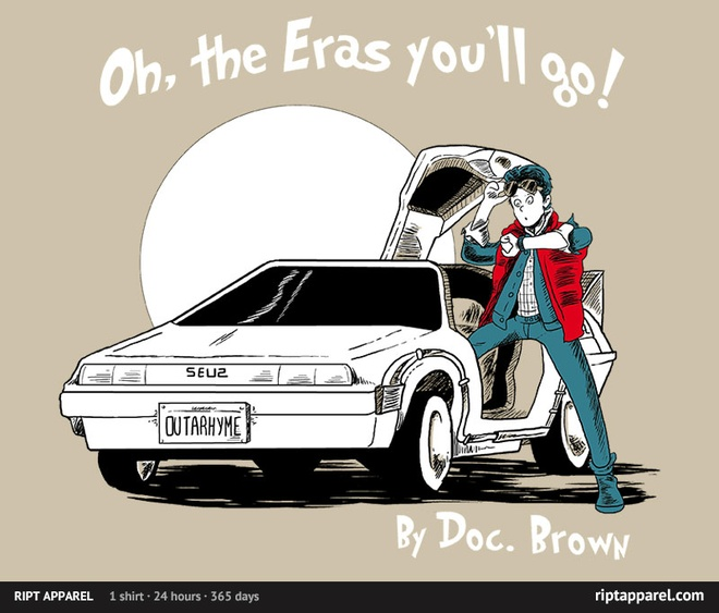 RiptApparel.com Oh the eras you'll go