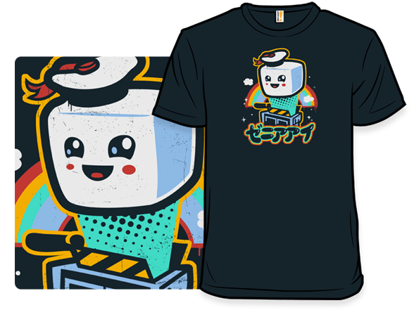 shirt.woot!.com kawaii puft shirt; ghostbusters