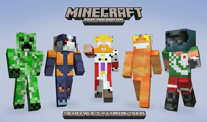 Skin Pack 3 for Minecraft: Xbox 360 Edition Announced!