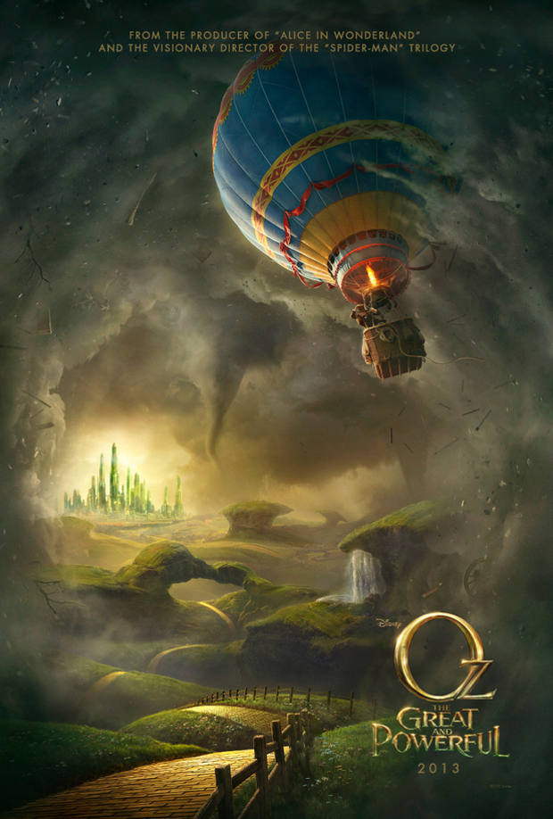 Oz: The Great and Powerful poster; disney