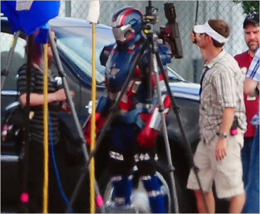 The Iron Patriot / Coldblood Iron Man 3 set