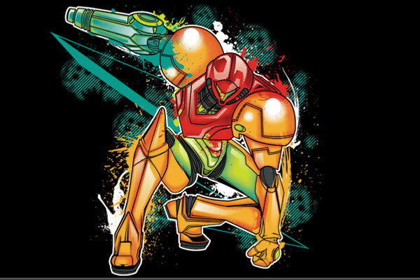 Hunting Parasites Metroid shirtpunch!