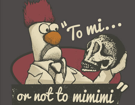 to mi or not to mimimi shirt, the muppets qwertee.com
