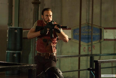 Resident Evil Retribution Barry Burton
