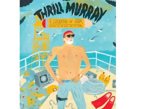 bill murray coloring book