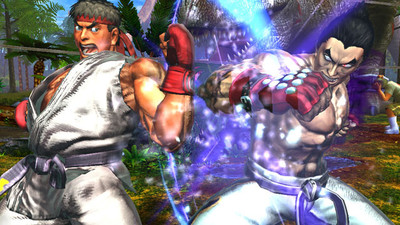 Tekken X Street Fighter Screenshot - Street Fighter x Tekken