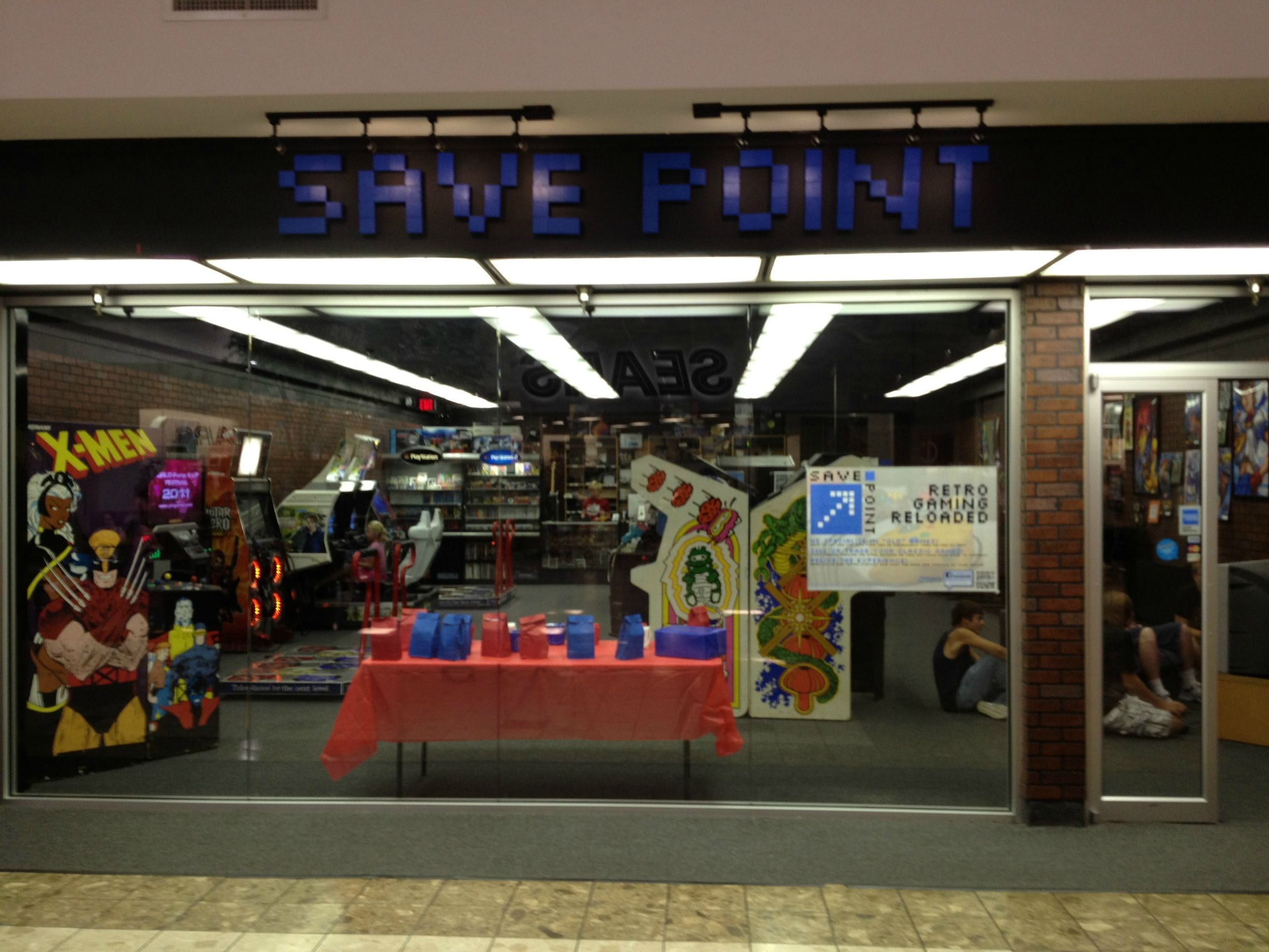 the save point