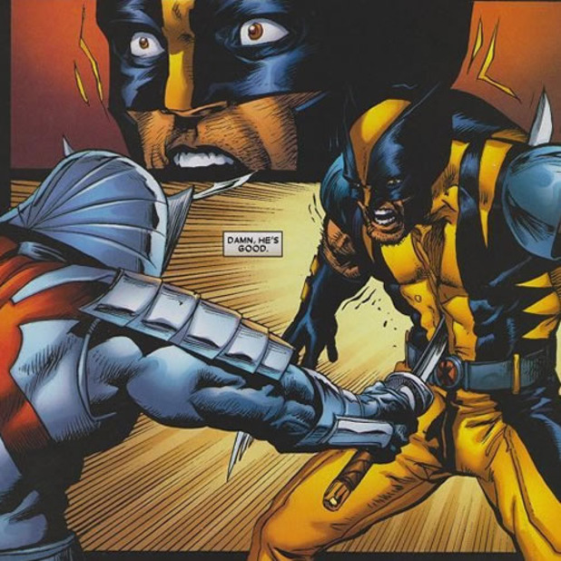 the silver samurai and wolverine