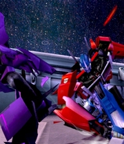 Transformers Prime Boxart