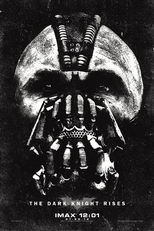 Bane IMAX poster for the dark knight rises