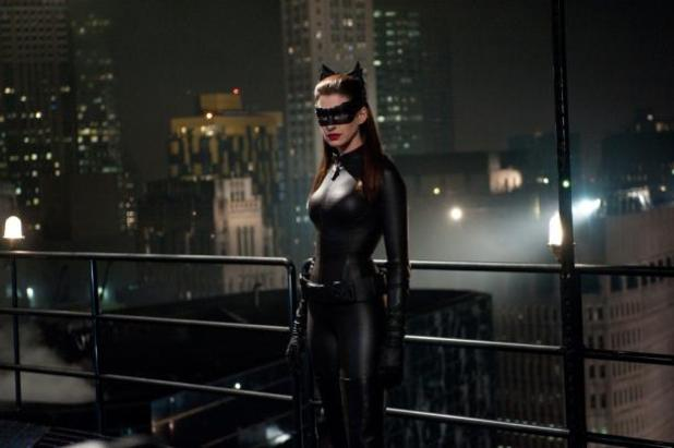 The Dark Knight Rises (2012) Screenshot - anne hathaway catwoman