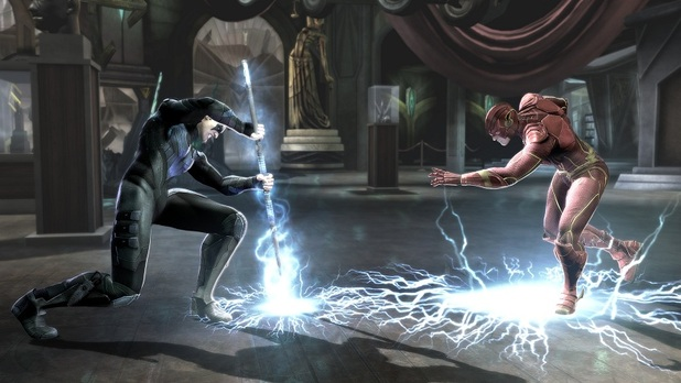 Nightwing and the Flash