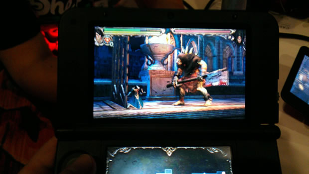 Castlevania Lords of Shadow 3DS XL
