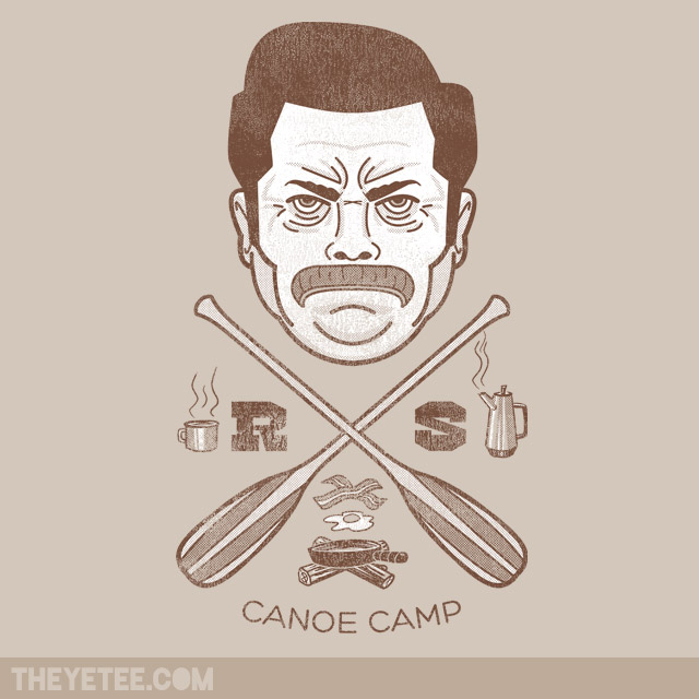 swanson canoe camp t-shirt