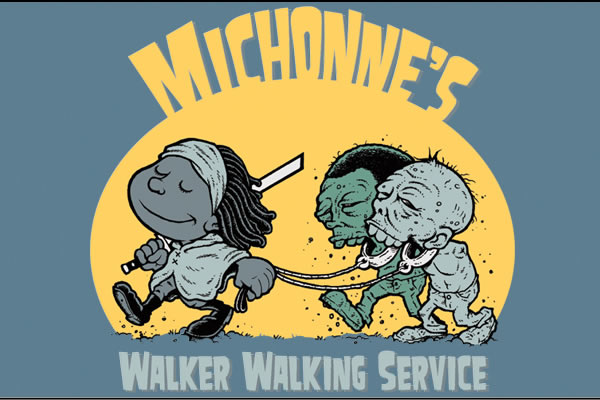 Michonne Walking Walkers shirt