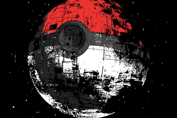 poked to death, pokemon death star shirt