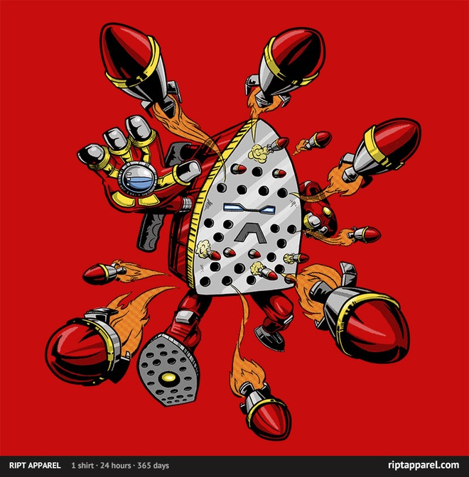 the iron iron shirt riptapparel