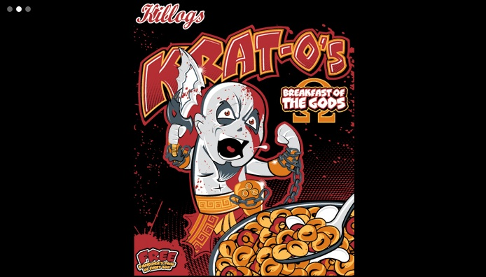 Krat-Os cereal shirt
