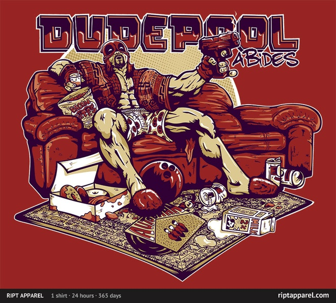dudepool deadpool shirt