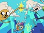 Adventure Time: Hey Ice King! Why'd you steal our garbage? Image
