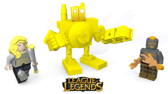 League of Legends LEGO