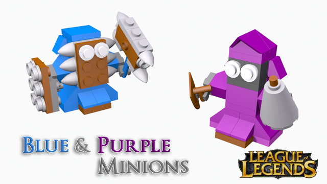 league of legends legos minions