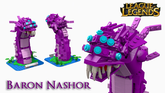 Lego league of legends baron nashor