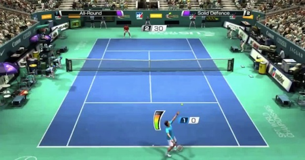 Virtua Tennis 4: World Tour Screenshot - 1113274