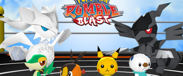 Pokemon: Rumble Blast - Feature