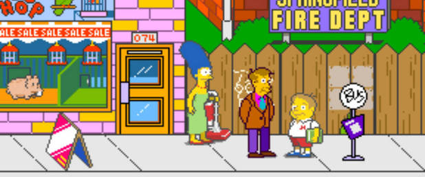 The Simpsons Arcade Game - Feature