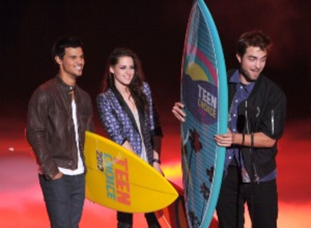 the twilight saga teen choice awards 2012