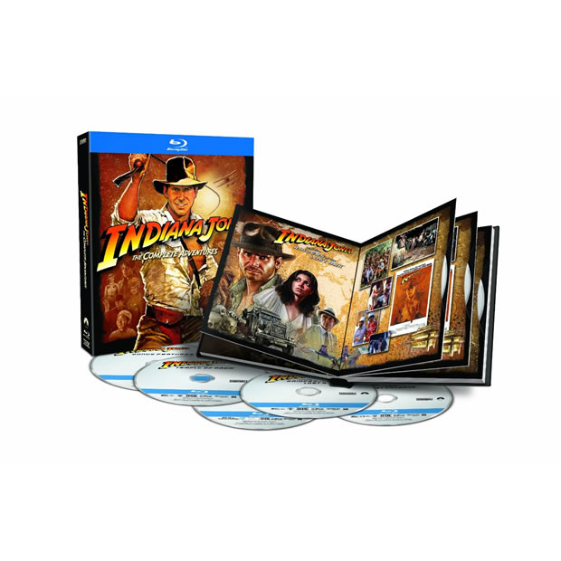 indiana jones the complete adventures blu-ray