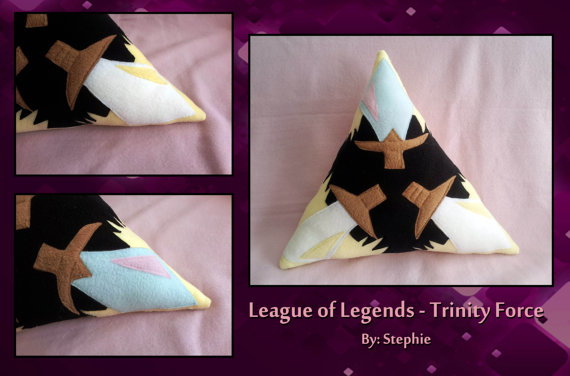 league of legends trinity force pillow