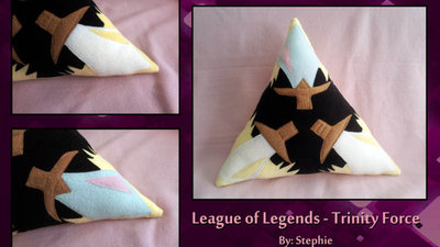 League of Legends Screenshot - Trinity force league of legends pillow etsy