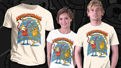 Adventure Time: Battle Party Screenshot - adventure time shirt