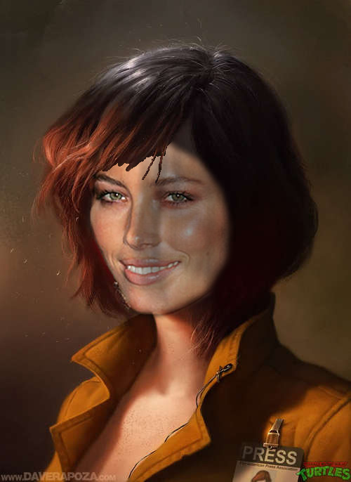 april o'neil jessica biel