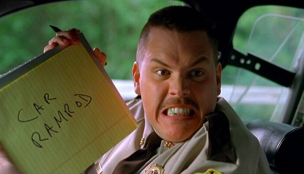 car ramrod super troopers.