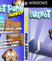 Basket Pong Monkey Boxart