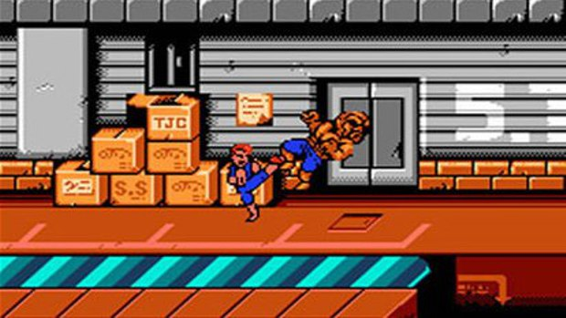 Double Dragon - NES - 2