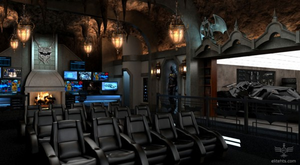batman batcave home movie theater