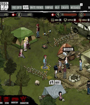 The Walking Dead Social Game Boxart