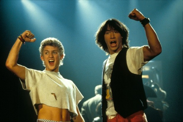 Movie News Screenshot - bill and ted's excellent adventure