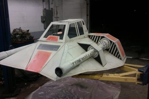 star wars snowspeeder the chive