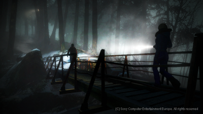 Playstation Move Screenshot - Until Dawn