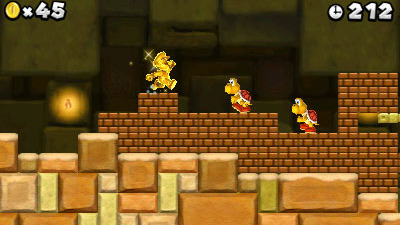 New Super Mario Bros 2 Screenshot - NSMB2