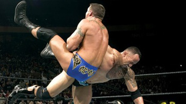Rock vs. Randy Orton