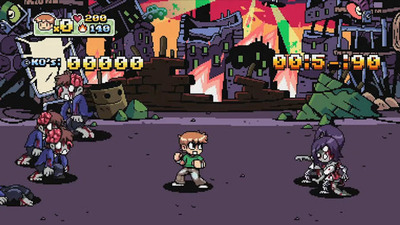 Scott Pilgrim vs. The World: The Game Screenshot - Scott Pilgrim vs. The World