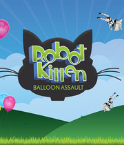Robot Kitten Balloon Assault Boxart
